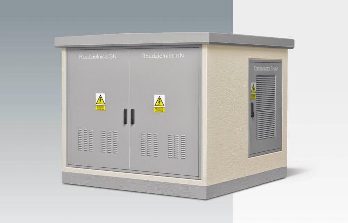 КТП типа KS 21-23z мощностью до 630 кВА
