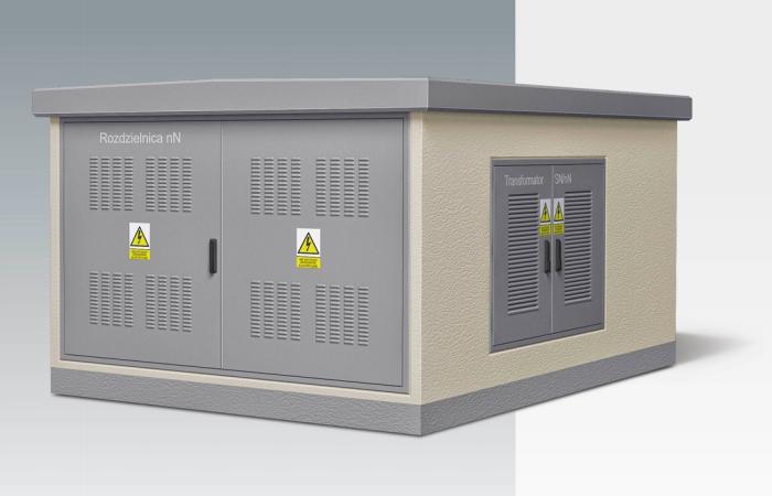 КТП типа KS 25-36z мощностью до 1000 кВА